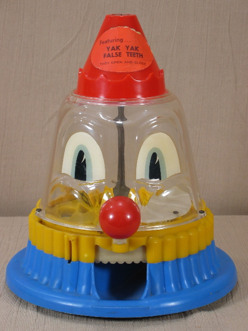 clown gumball machine